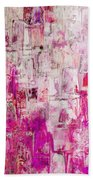Oblong Abstract I Beach Towel