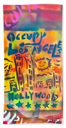 Occupy Hollywood Beach Towel