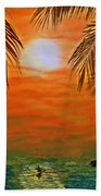 Ocean Kayaker Beach Towel