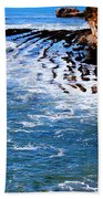Ocean Lines Beach Towel