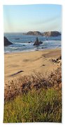 Bandon Oregon Shorelines Beach Towel