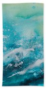 Ocean's Melody Beach Towel