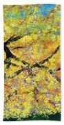 October Fall Foliage Beach Towel