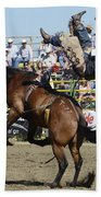 Rodeo Off In A Flash Beach Towel
