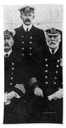 Officers Of The Titanic, 1912 Beach Towel