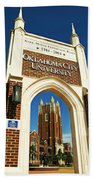 Oklahoma City University Beach Towel