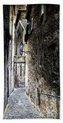old alley in Italy Beach Towel