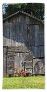 Old Barn South Of Brevard Beach Towel