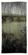 Old Bridge  Beach Towel