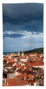 Old City Of Dubrovnik Beach Towel