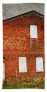Old Coca Cola Building Beach Towel