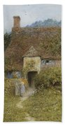 Old Cottage Witley Beach Towel