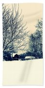 Old Country Christmas 3 Beach Towel