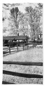 Old Country Saw-mill Beach Towel