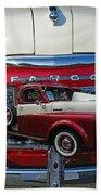 Old Fargo Pick Up Truck Beach Towel