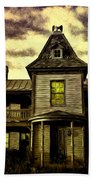Old House At St Michael's Beach Towel
