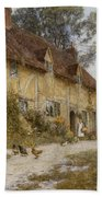 Old Kentish Cottage Beach Towel