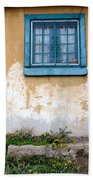 Old Paint Old Wall New Mexico Beach Towel