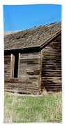 Old Ranch Hand Cabin Beach Towel