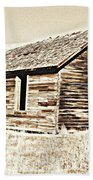Old Ranch Hand Cabin L Beach Towel