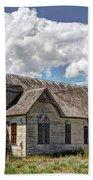 Old Schoolhouse - Ovid - Idaho Beach Towel