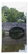 Old Sumneytown Pike Bridge Over The Perkiomen Creek Beach Towel
