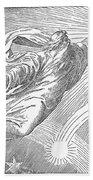 Old Testament: God Beach Towel