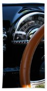 Oldsmobile 88 Dashboard Beach Towel