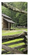 Oliver Cabin In Cade's Cove Beach Towel