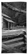Oliver's Cabin In The Great Smokey Mountains Beach Towel