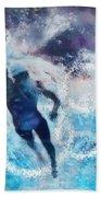 Olympics Swimming 01 Beach Towel