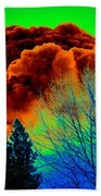 Ominous Cloudfront Beach Towel