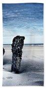 On A Coast Beach Towel
