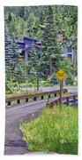 One Lane Bridge - Vail Beach Towel
