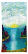 One More Sunset Beach Towel