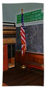 One Room Schoolhouse Beach Towel