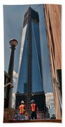 One Wtc First Look Beach Towel