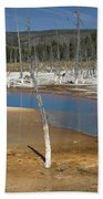 Opalescent Pool Of Yellowstone Beach Towel