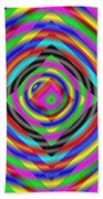 Optical Illusion Beach Towel