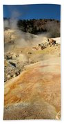 Orange Thermal Crust Beach Towel