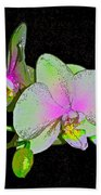 Orchid 5 Beach Towel