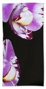 Orchid Stem Beach Towel