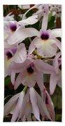 Orchids Beauty Beach Towel