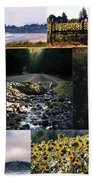 Oregon Collage From Sept 11 Pics Beach Towel
