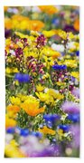 Oregon Wildflowers Beach Towel