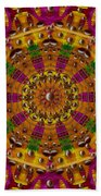 Orient Sun In Fantasy Style Beach Towel
