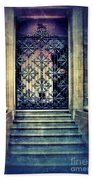 Ornate Entrance Gate Beach Towel