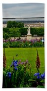 Orsay From The Tuileries Beach Towel