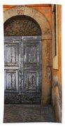 Orvieto Doorway Beach Towel
