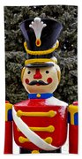 Outdoor Toy Soldier Beach Towel
